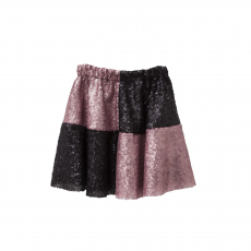 TC ΦΟΥΣΤΑ & HEADBAND VENECIAN CARNIVAL CHESS SEQUINED SKIRT  KID