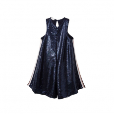 TC ΟΛΟΣΩΜΟ ΣΟΡΤΣ & HEADBAND EQUATOR SEQUINED FRONT JUMPSUIT KID