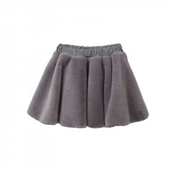 TC ΦΟΥΣΤΑ MONOCHROME BASIC FUR SKIRT