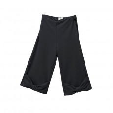 TC ΠΑΝΤΕΛΟΝΙ MONOCHROME KNOT BOW BASIC PANTS KID